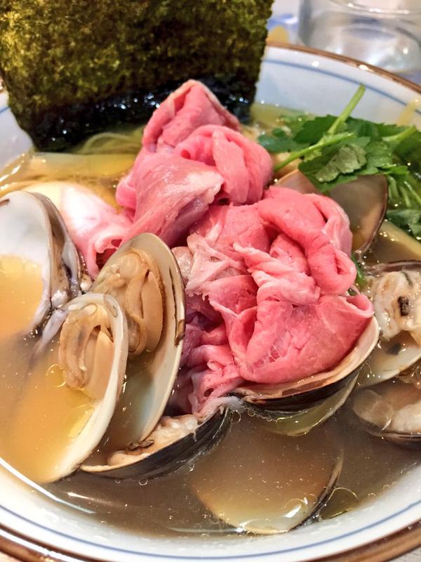 蛤ラーメン